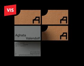 Aghata Valendolf 室内设计师品牌形象设计